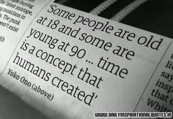 somepeople are old 
