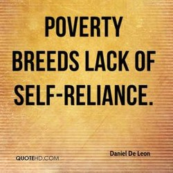 POVERTY 