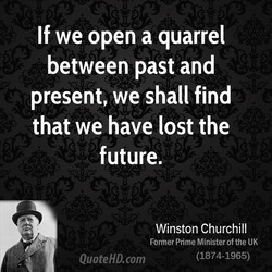 If we open a quarrel 