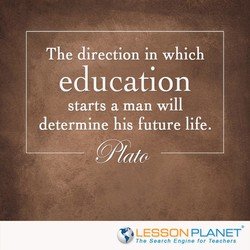 The direction in which 