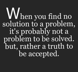 When you find no 