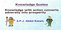 Knov•'ledge Quotes 
