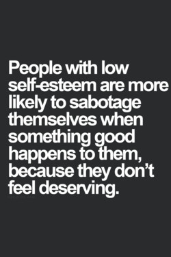 People with low 