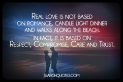 REAL LOVE IS NOT BASED 