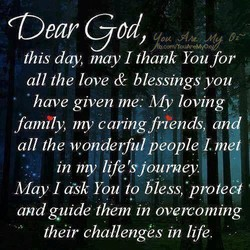 (Dear god, 