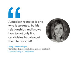 A modern recruiter is one 