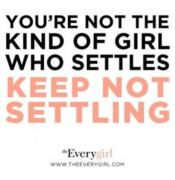 YOU'RE NOT THE 