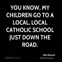 YOU KNOW, my 