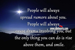 People will always 