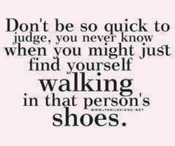 Don't be so quick to 