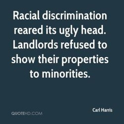 Racial discrimination 