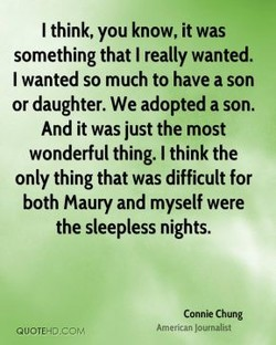 I think, you know, it was 