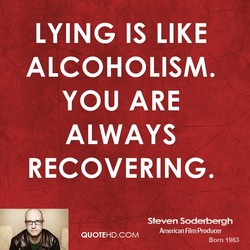 LYING IS LIKE 