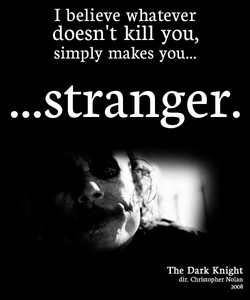 I believe whatever 