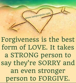 Forgiveness is the best 