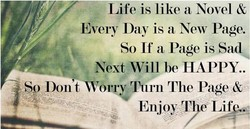 Life is like a Novel & 