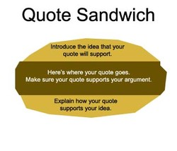 Quote Sandwich 