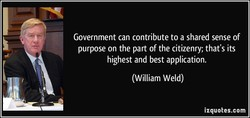 Government can contribute to a shared sense of 