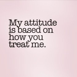 MV attitude 