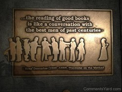 the reading of good books 