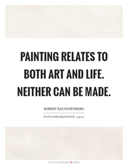PAINTING RELATES TO 