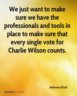 We just want to make 