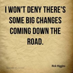 I WON'T DENY THERE'S 