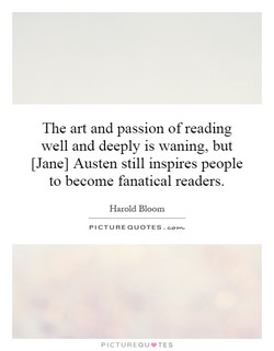 The art and passion of reading 