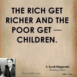 THE RICH GET 