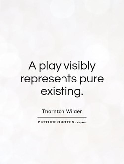 A play visibly 
