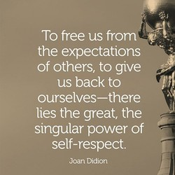 To free us fro 