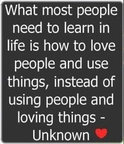 What most people 