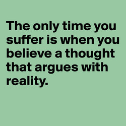 The only time you 