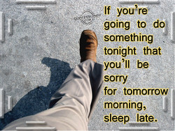 If you?re 