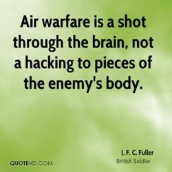 Air warfare is a shot 
