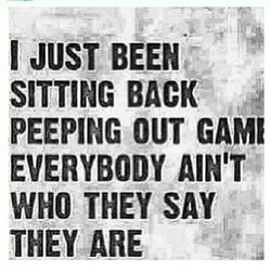 I JUST BEEN 