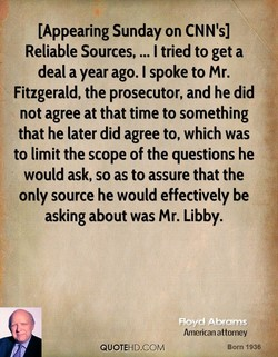 [Appearing Sunday on CNN's] 