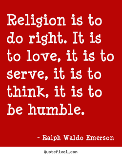 Religion is to 