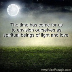 The time has come for us 