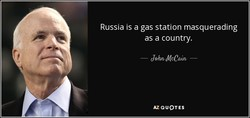 Russia is a gas station masquerading 