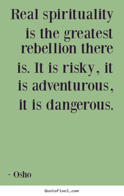 Real spirituality 