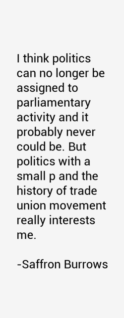 I think politics 
