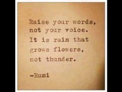 Raise y oar words, 