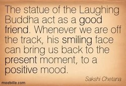 The statue of the Laughing 