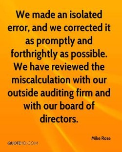 We made an isolated 