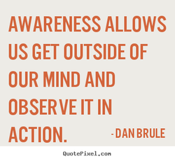 AWARENESS ALLOWS 