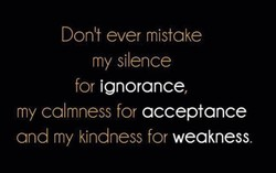 Donlt ever mistake 