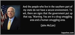 And the people who live in the southern part of 