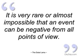 It is very rare or almost 