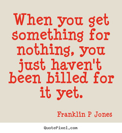 When you get 